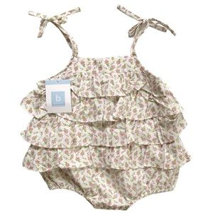 NWT Bella Bliss bubble romper 12M